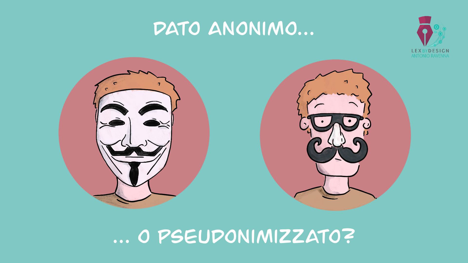 App di Contact Tracing: dati anonimi e dati anonimizzati